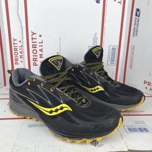 Saucony Mens Peregrine 5 Trail S20268-1 Size 12